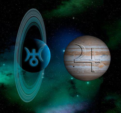 Jupiter-Uranus