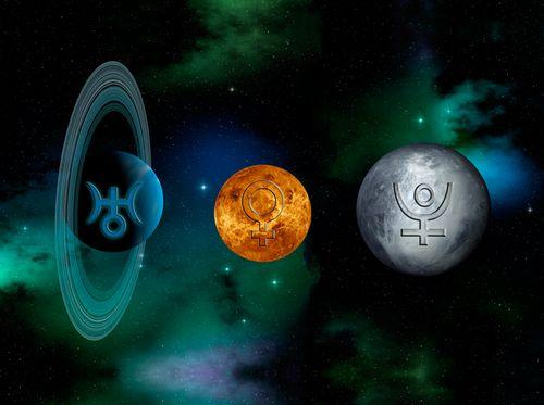 Uranus-Pluto-Venus