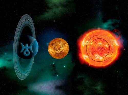 Uranus-Venus-Sun