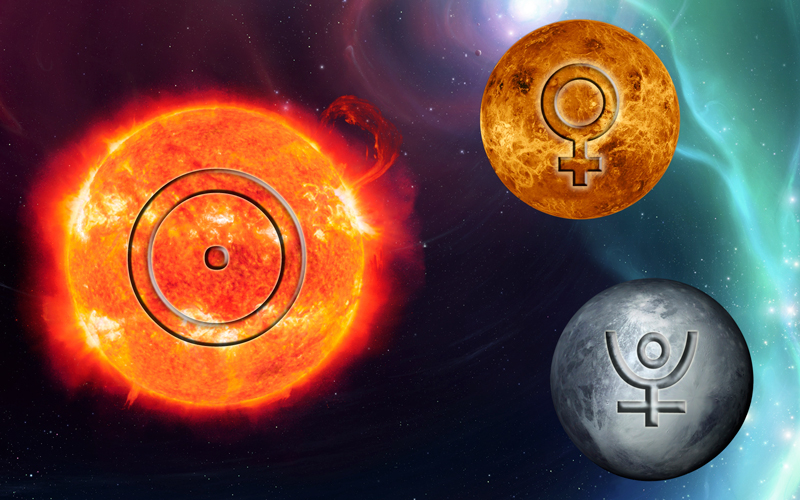 Sun-Venus-Pluto