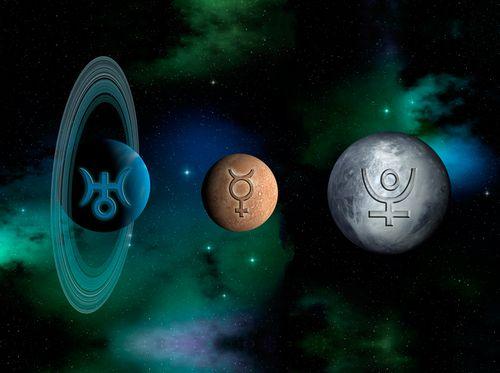 Uranus-Pluto-Mercury