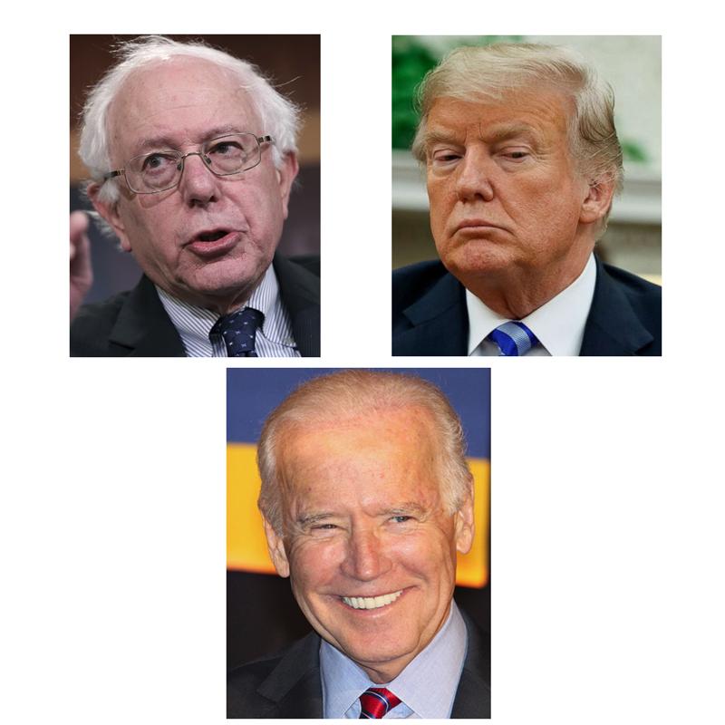 Sanders-Trump-Biden