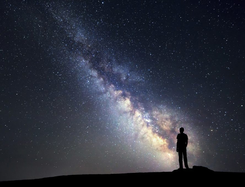 Looking-at-the-Milky-Way