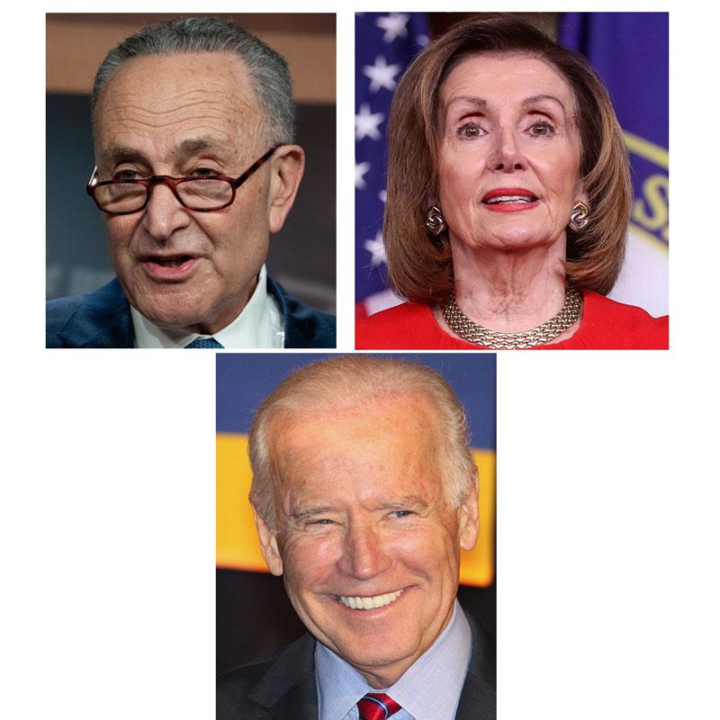 Biden-Schumer-Pelosi