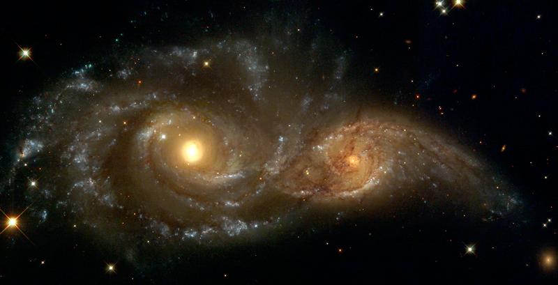 Galaxies-Collide