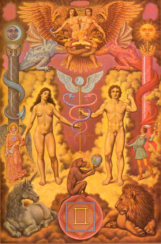 Gemini---Johfra_Bosschart-Zodiac-Paintings